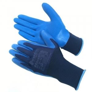 Нейлоновые перчатки со штампованным латексным покрытием Gward Rocks XL