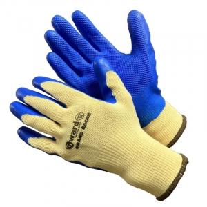 Усиленные латексные перчатки на полиэстровой основе Gward `Hard Rocks`, размер L