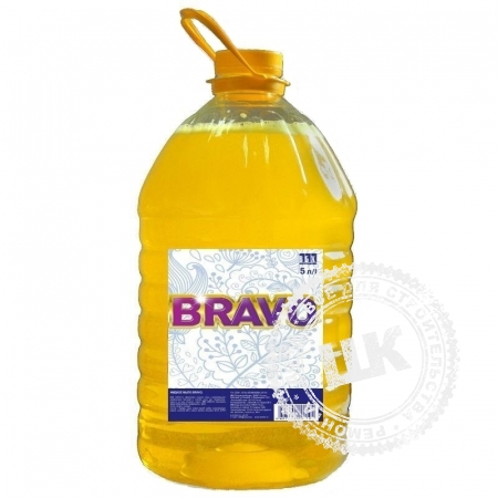 Мыло жидкое Bravo лимон 5 л.